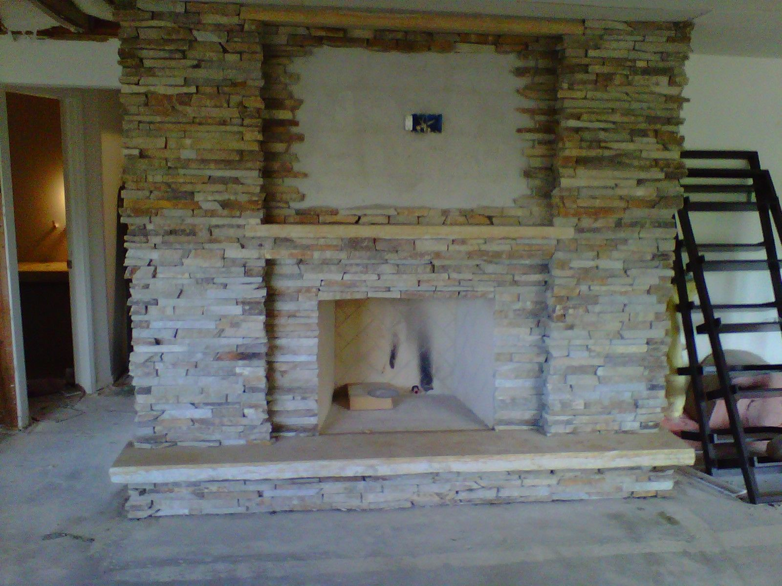 ledgestone+fireplaces | Homeowner design Virginia ledgestone ...