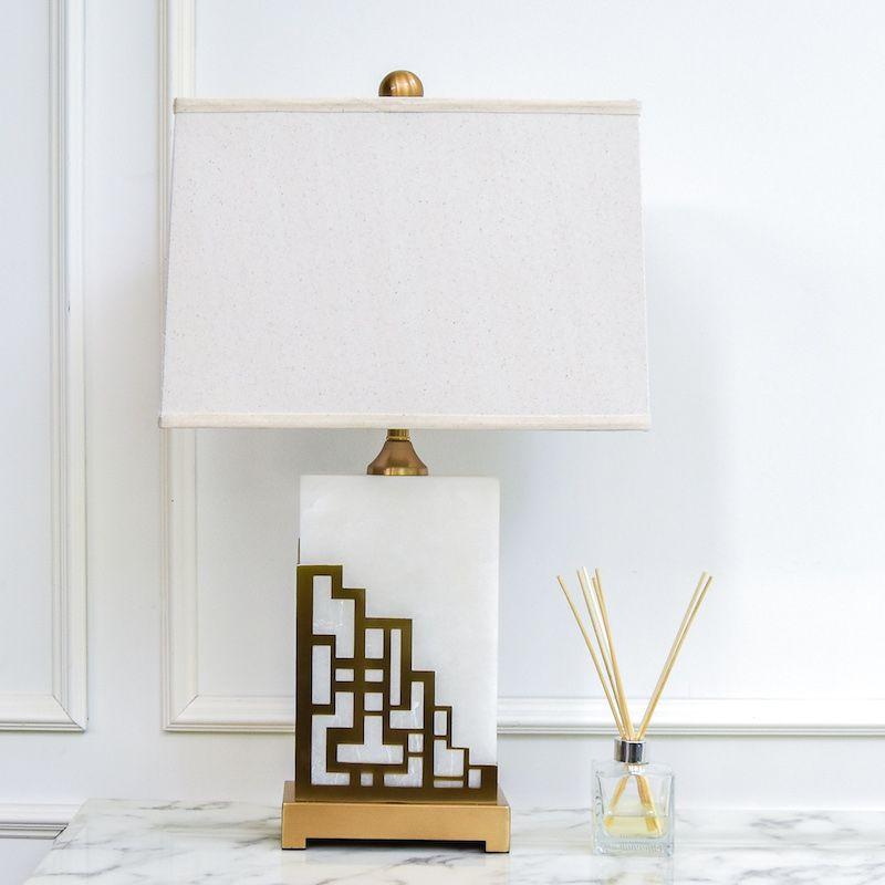 Haus Alabaster Table Lamp Table Lamp Lamp Alabaster