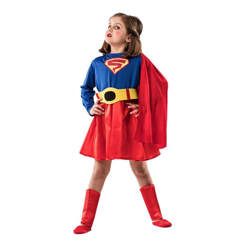 Déguisement Super Woman fille #déguisementsenfants #costumespetitsenfants #nouveauté2016