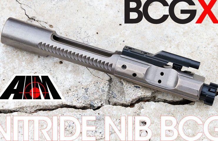 AIM BCG Nickel Boron Nitride Bolt Carrier Group 5 56 /  223