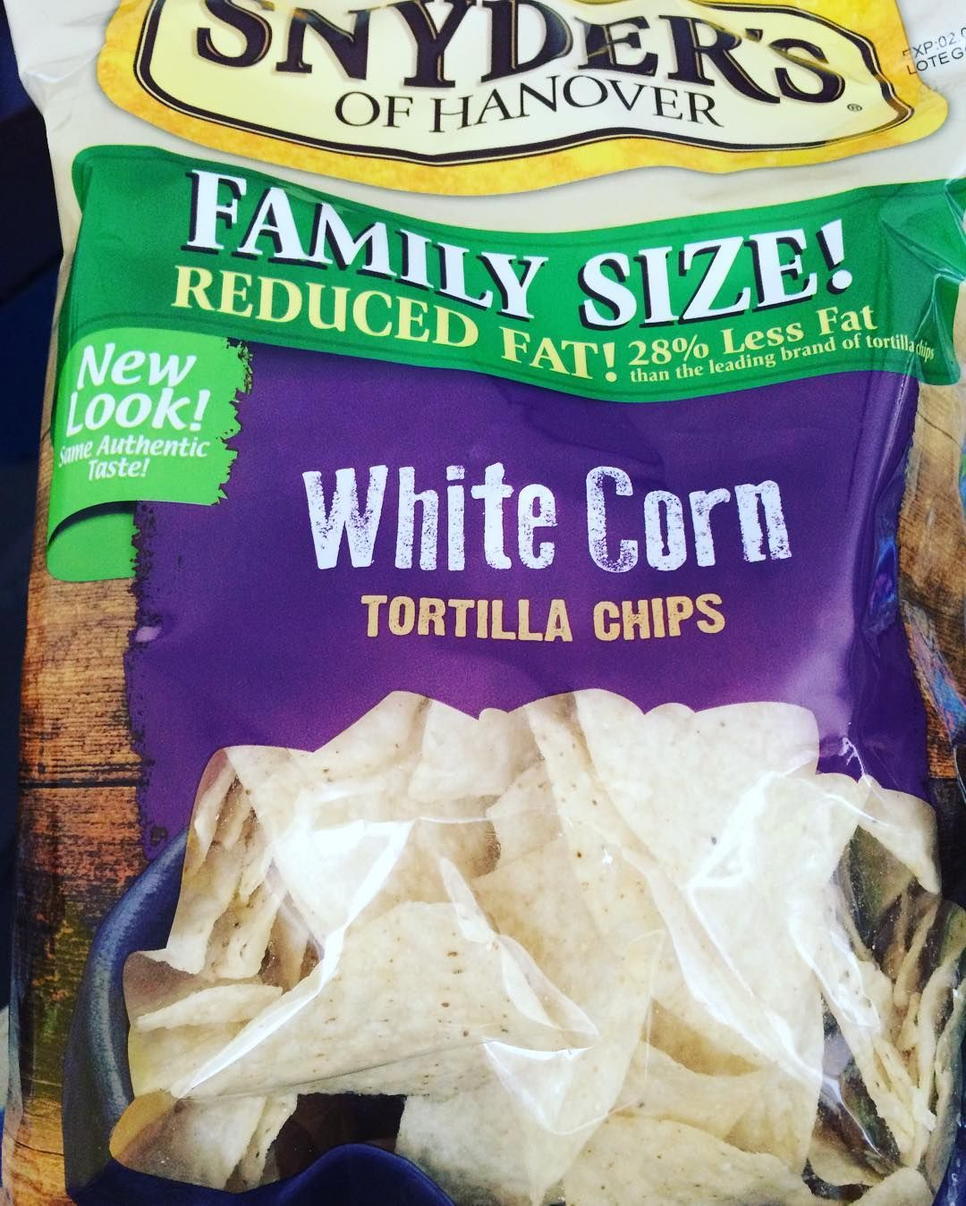 Testing! Testing! @snyders_hanover White Corn Tortilla Chips  #food