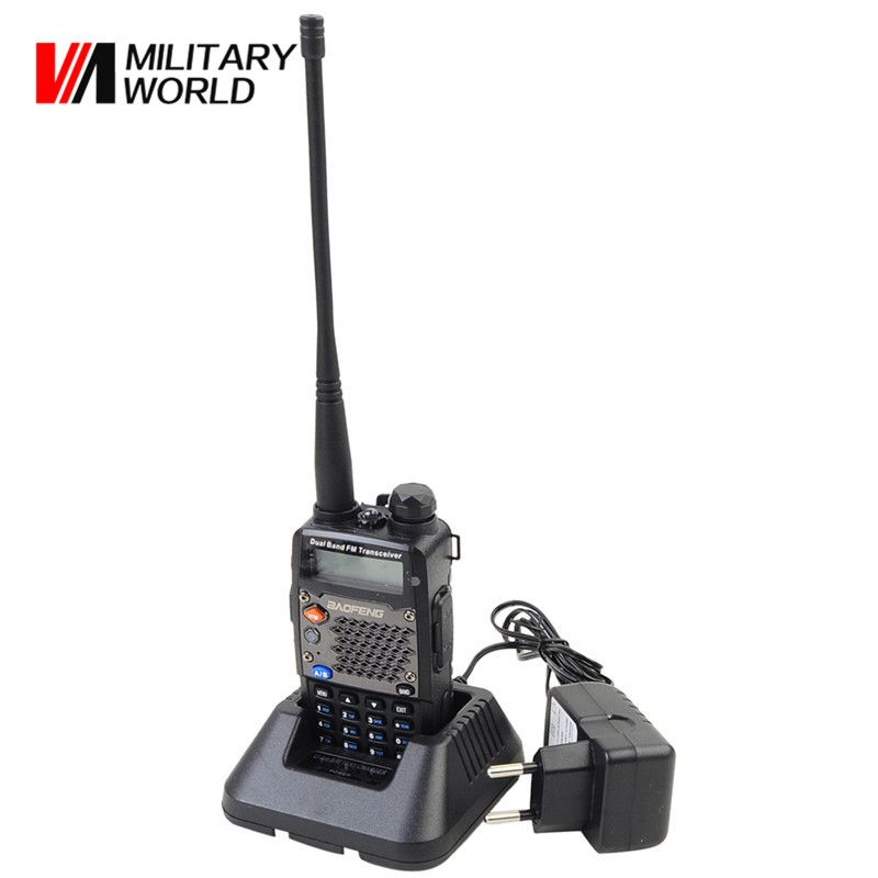 BF-UV5RD Tactical Military Two Way Radio UHF+VHF Portable Combat