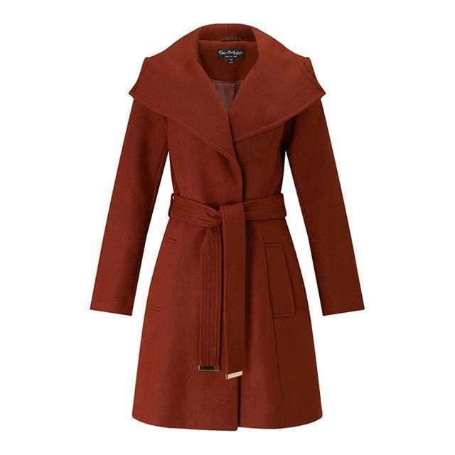 Loose Drawstring Casual Coat