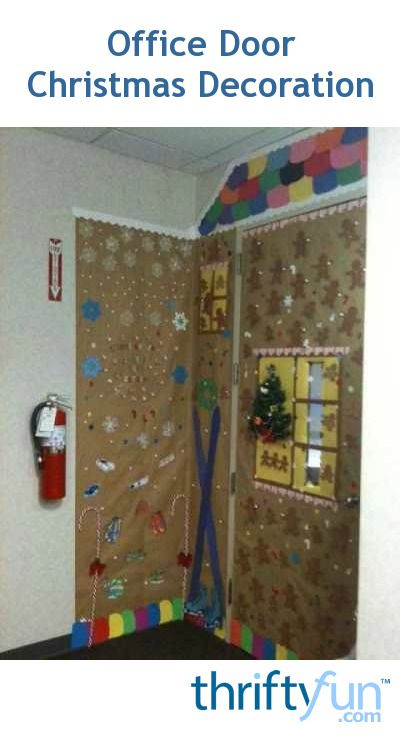 Christmas Decorating Ideas For Office Door