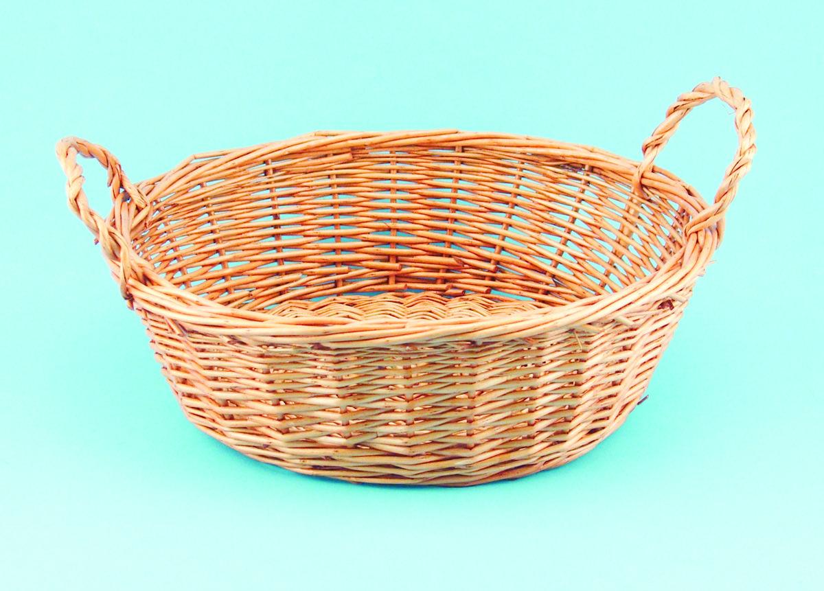 28-138CF Oval honey willow basket