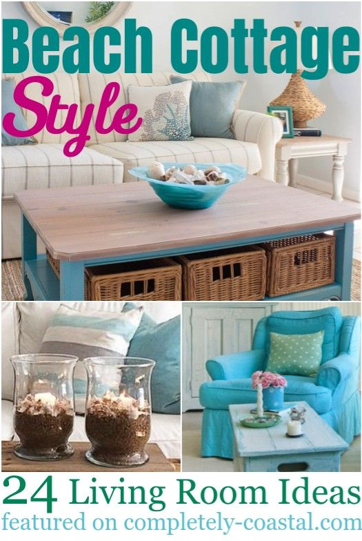 Photo of Small Beach Cottage Living Room Design & Decor Ideas