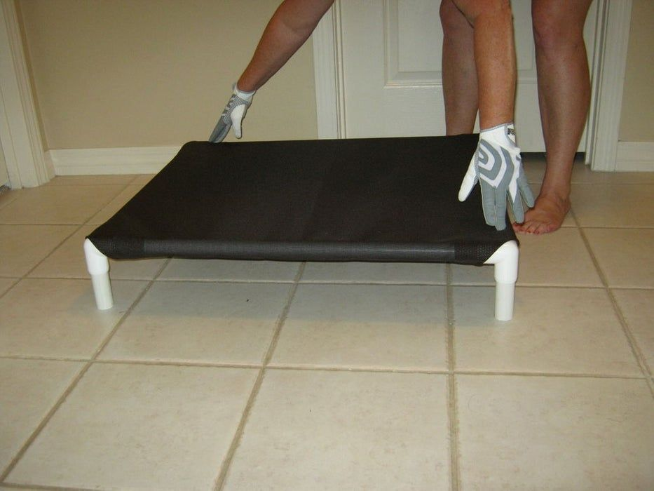 Build a dog cot for around 10 dog cots elevated dog