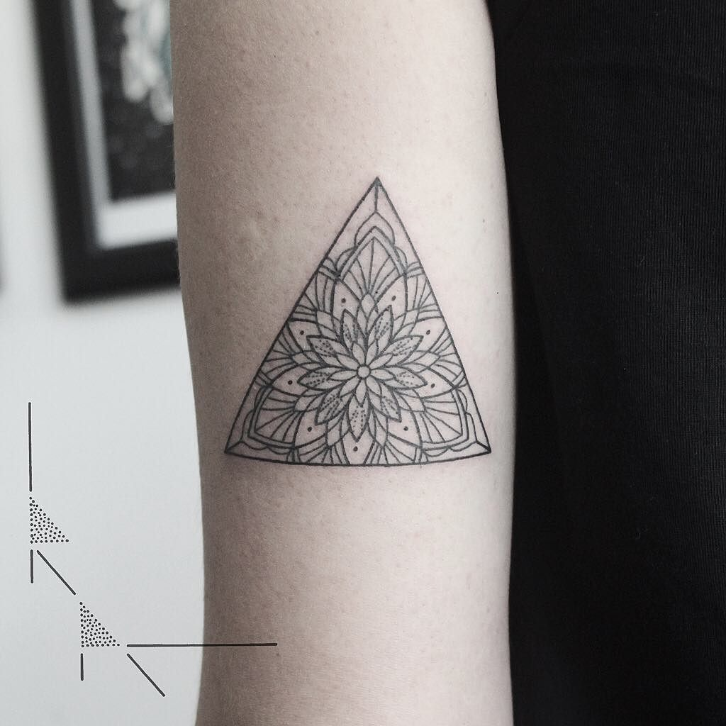Mandala Triangle For Maria From Argentina Thank You Rachainsworth