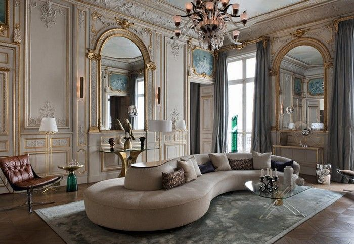 Effortless Chic Interiors With Modern French Style Luxury Homes Interior French Home Decor Interior Design