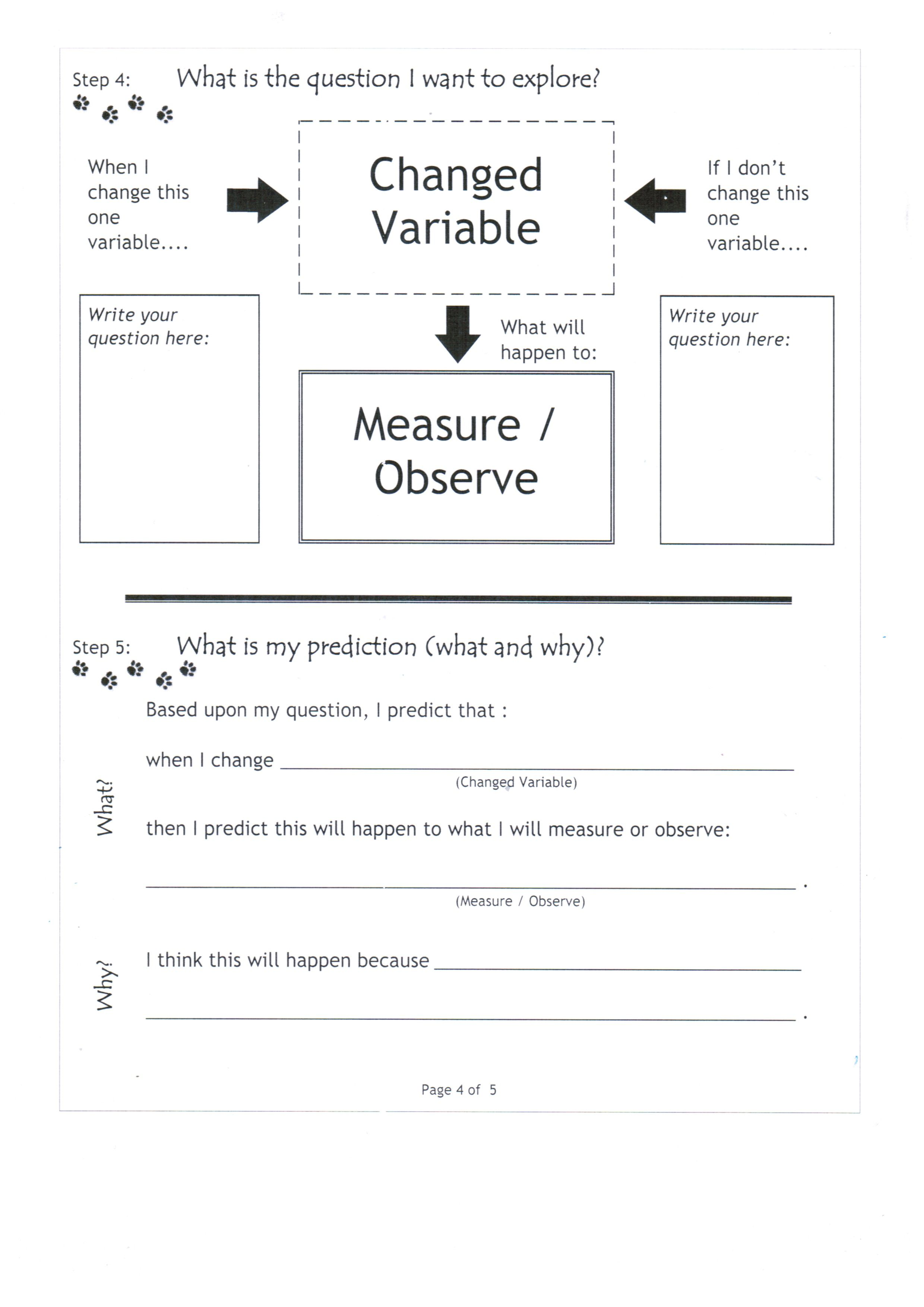 Page 4 Of 5 For Inquiry Strategies Use This To Teach A