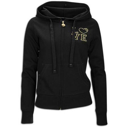 Southpole Plus Size Love Full Zip Hoodie - Womens - Black  de9033802