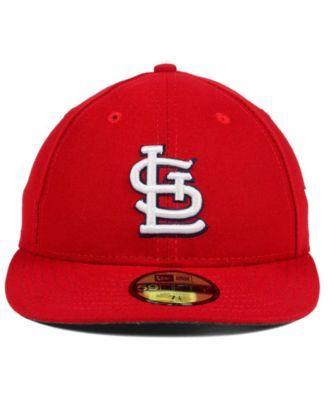New Era St. Louis Cardinals Low Profile Ac Performance 59FIFTY Cap ... 012d25429c7