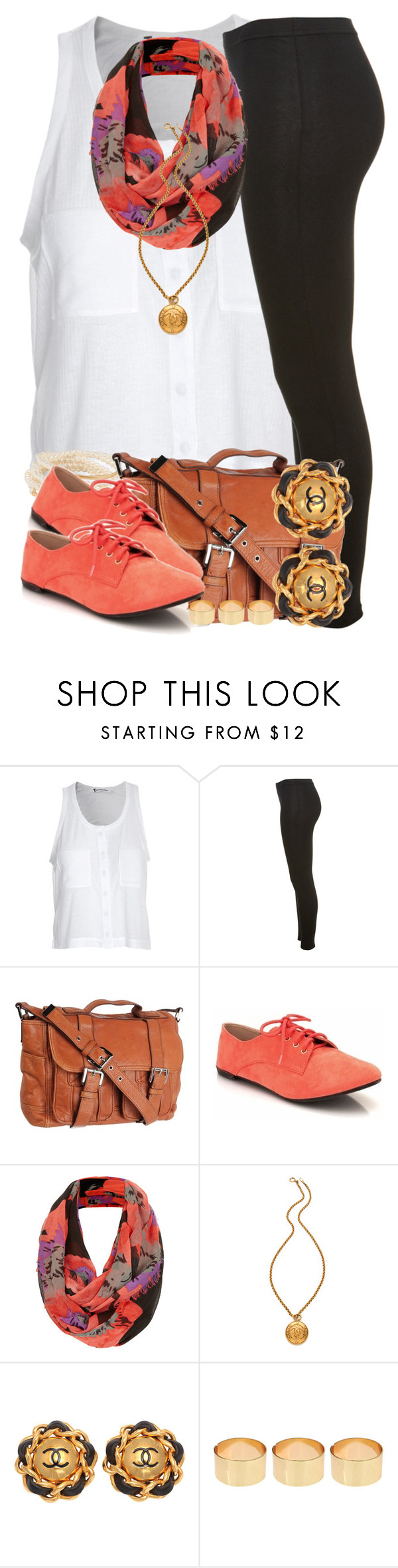 """"""":)"""" by livelifefreelyy ❤ liked on Polyvore featuring Alexander Wang, Miss Selfridge, MICHAEL Michael Kors, Topshop, WGACA, Chanel, ASOS, women's clothing, women and female"""