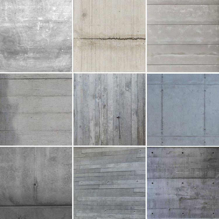 40 detalles constructivos de arquitectura en hormig n - Cemento decorativo para paredes ...