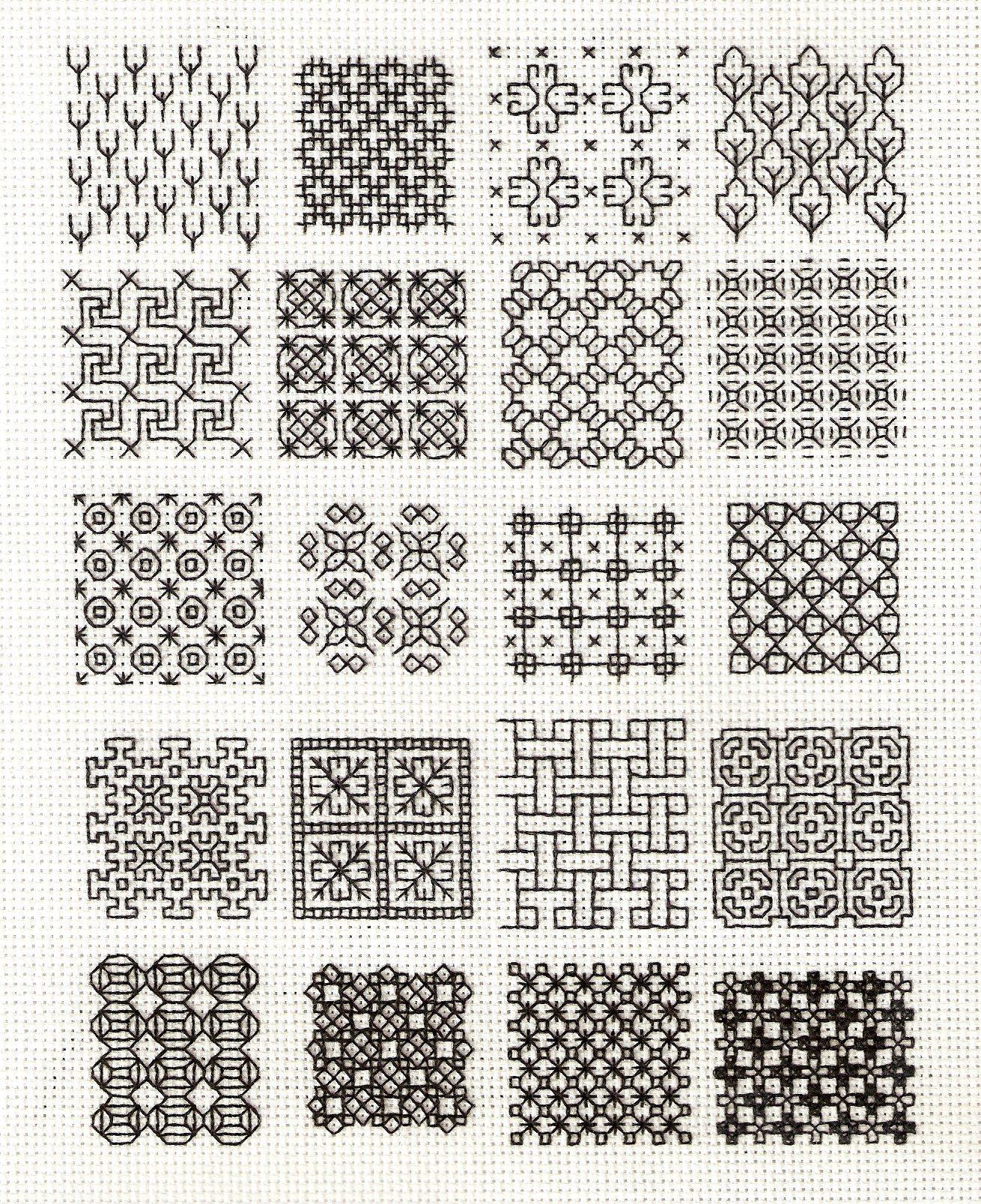 Blackwork Patterns