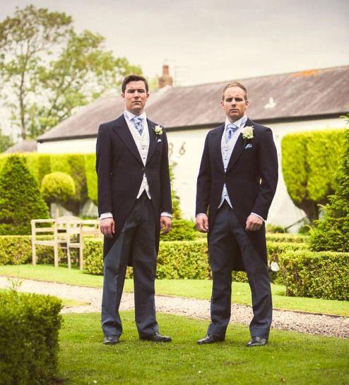 Navy Tails Package GBP59 Available At Dan Kerr Brides Blackpool Wedding Suit HireBlackpoolSummer WeddingMenswear