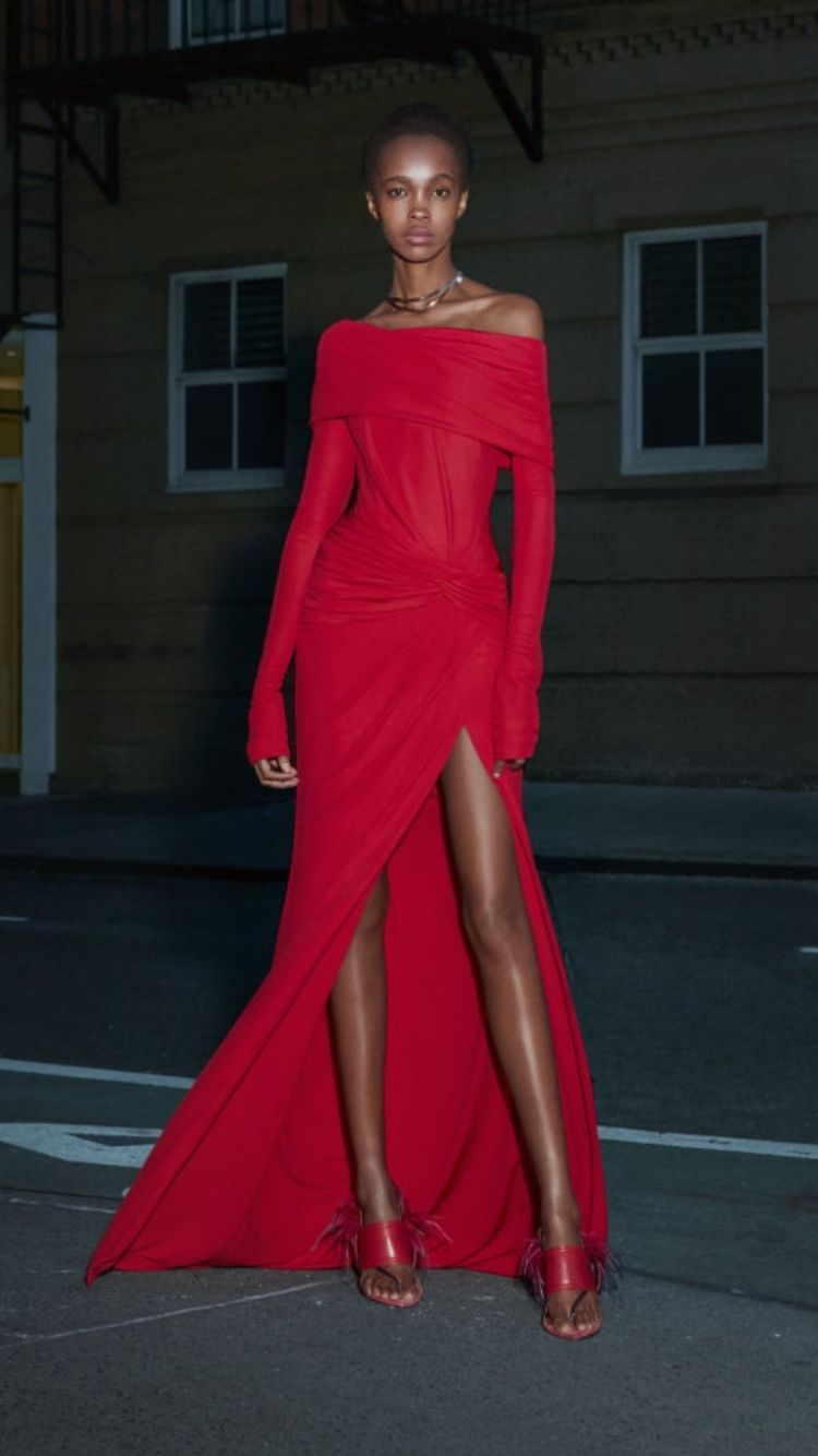 Prabal Gurunt Pre Fall 2019 20 Fashion Couture Dresses Red Fashion