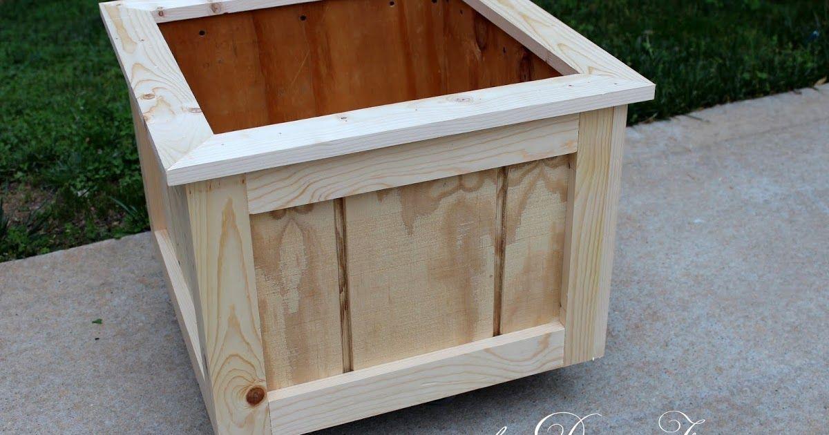 How To Make A Wood Planter Box Diy Wood Planter Box Diy Wood Planters Wood Planters