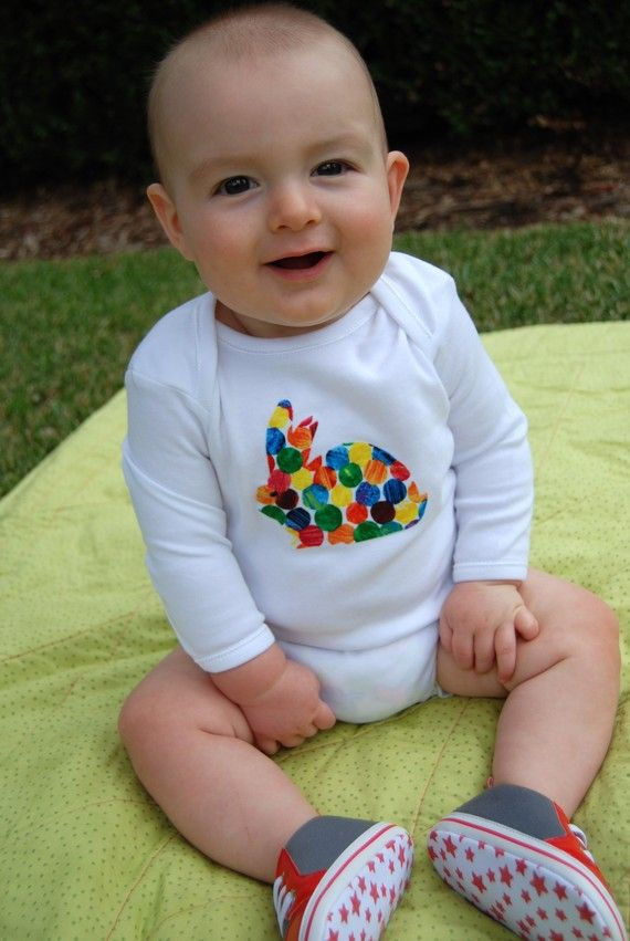Easter Bunny Outfit by BubbyMakesThree on Etsy