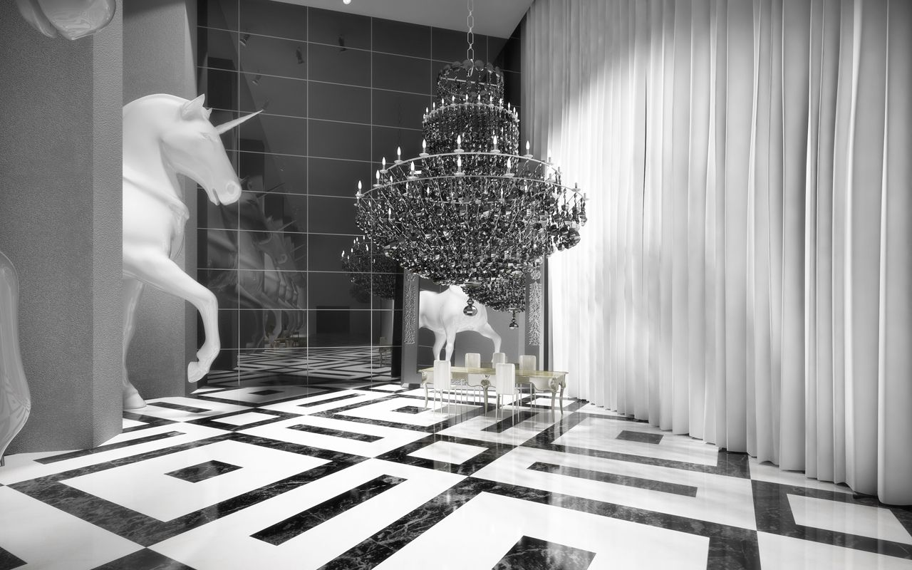 Philippe Starck Designed Condo In Dubai Hospital Interior