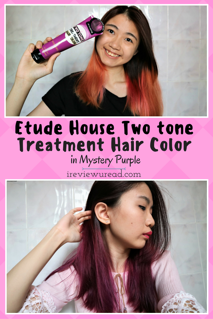 In today\'s review I got the Etude House Two Tone Treatment Hair ...