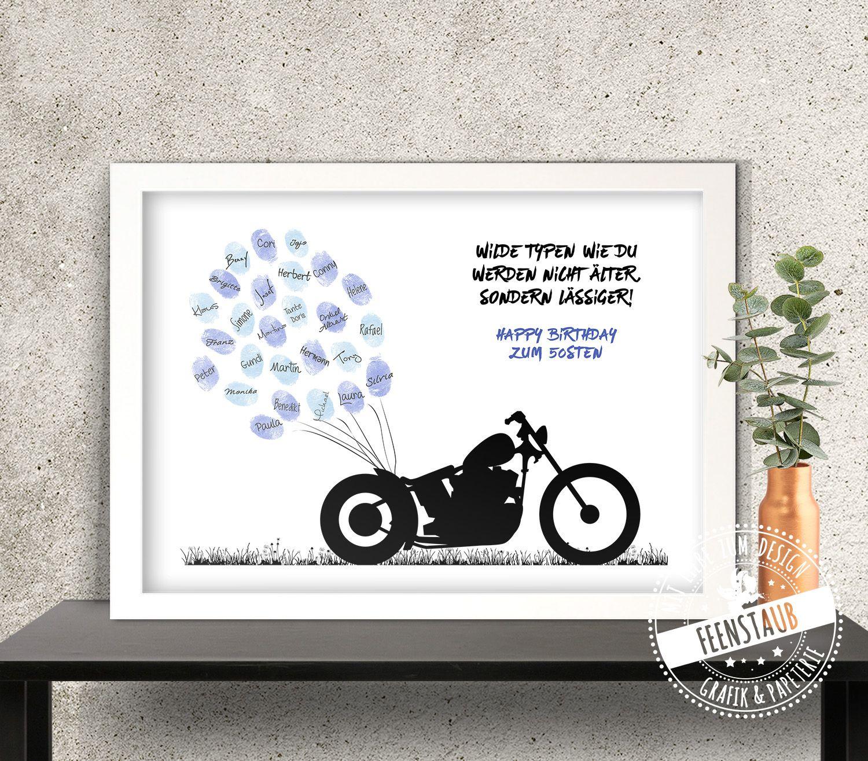 Geburtstagsgeschenk mann motorrad