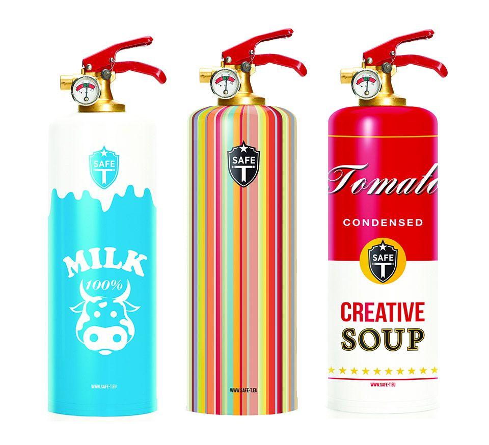 When Luxury Gets Stupid Designer Fire Extinguishers Fire Extinguishers Cool Stuff Design