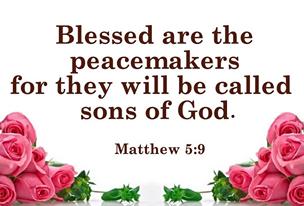 matt 5:9