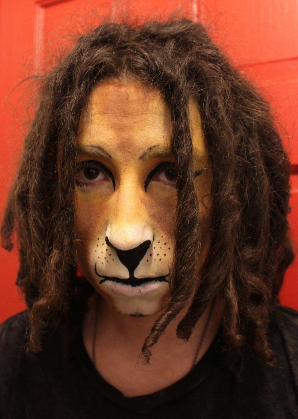 lion face paint by eggmonkey | Wizard of Oz | Pinterest | Lion ...