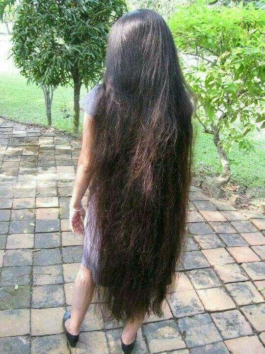 So Thick And Long Gorgeous Long Thick Hair Really Long Hair Beautiful Long Hair