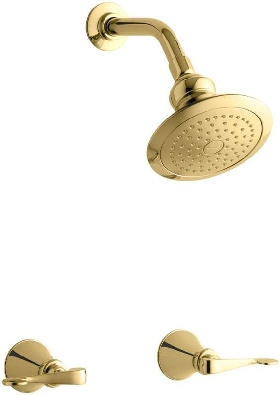 Kohler K 16214 4 Double Handle Shower Only Trim And Valve With