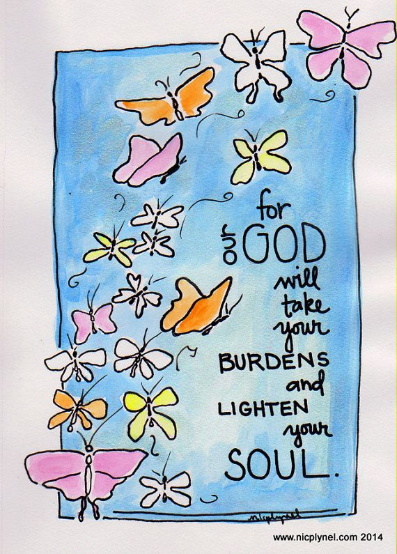 bible verse god will take your burdens sympathy card by nicplynel - Bible Verses For Sympathy Cards