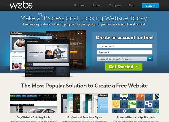 Best Free Website Builders For Professional Looking Brand Business Websites Website Builder Free Builder Website Easy Website Builder