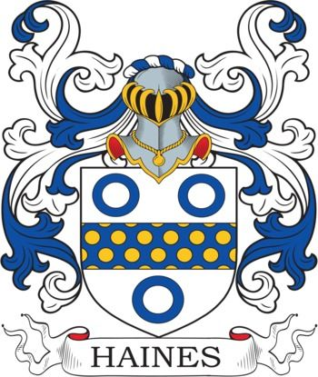 Haines Family Crest and Coat of Arms | coadb | Coat of arms