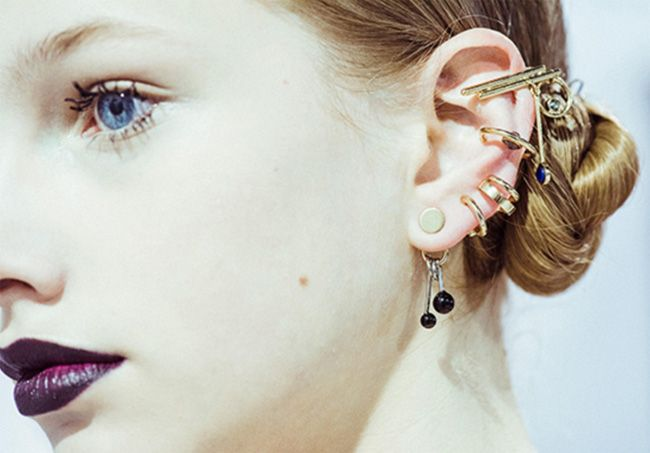 The Coolest New Ear Piercing Trend From Dior Runway