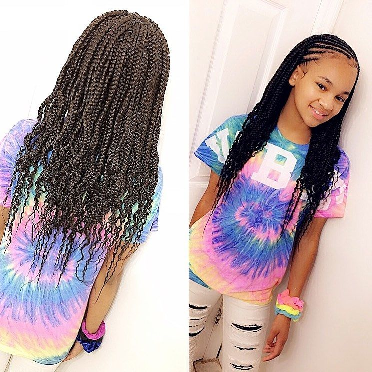 Braids For Kids 100 Back To School Braided Hairstyles For Kids In 2020 Kids Braided Hairstyles Kids Hairstyles Braids For Kids