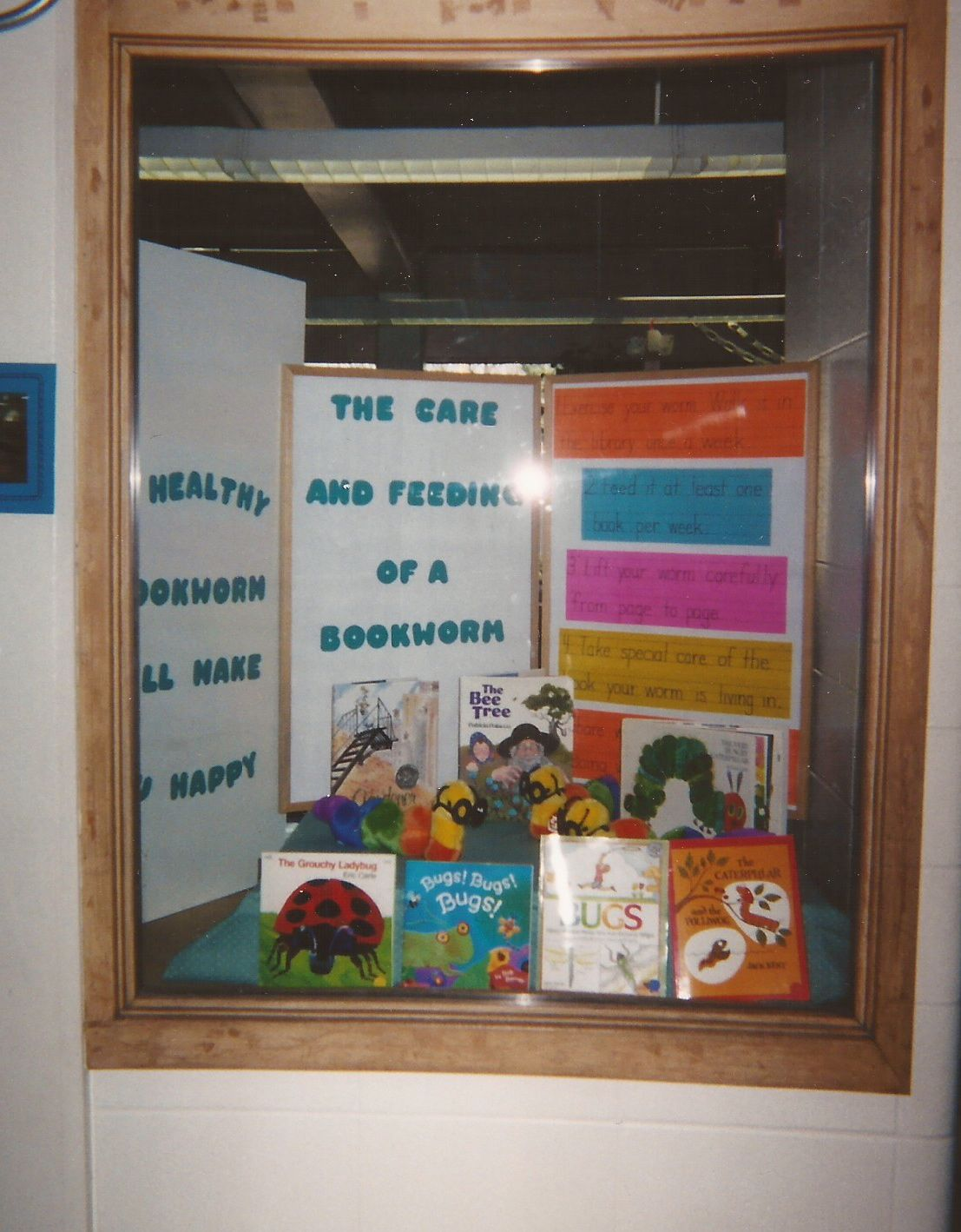 Feed A Bookworm Book Worms Bee Frame