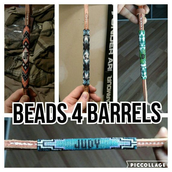 custom made over n under barrel racing whip by