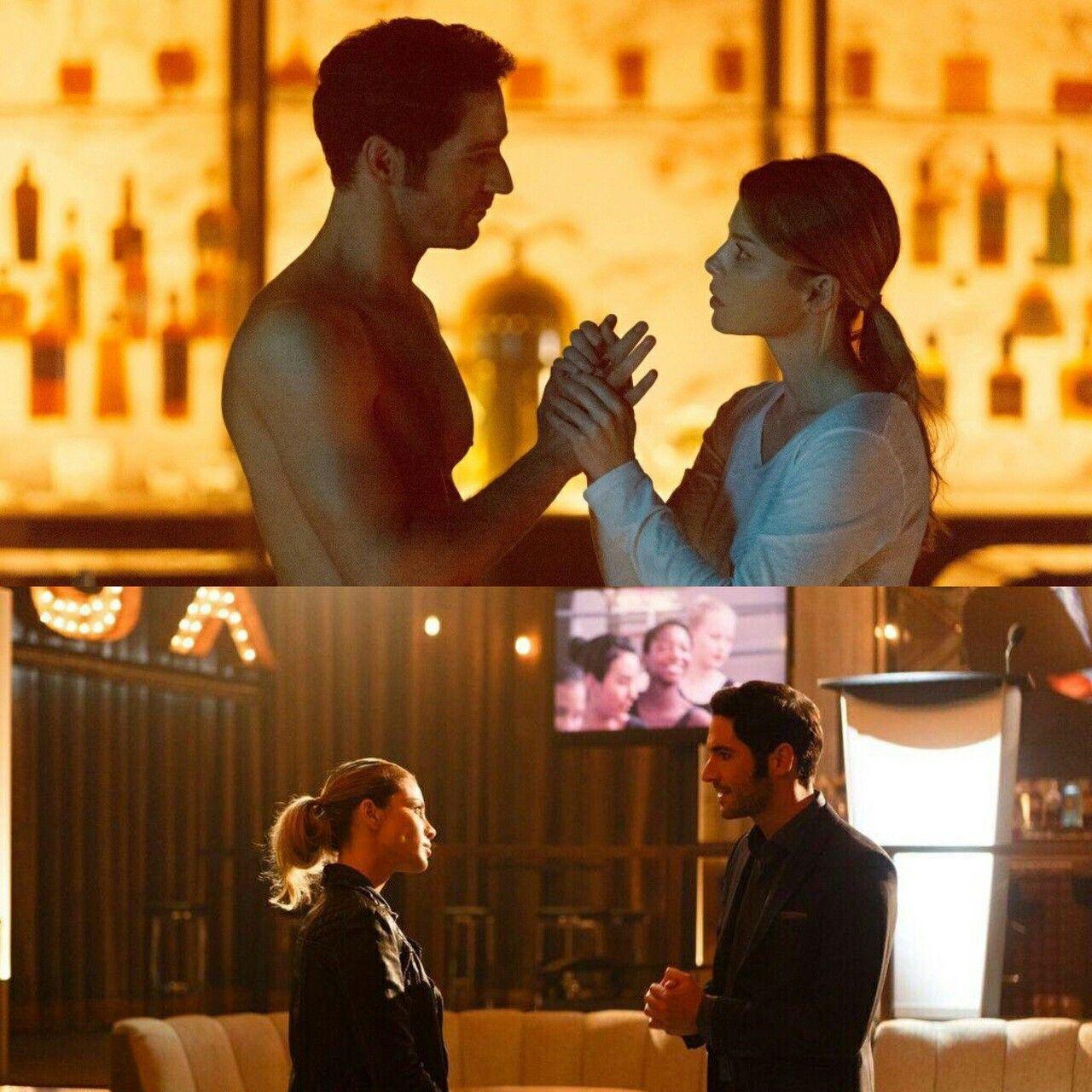Lucifer And Chloe: Lucifer Morningstar / Tom Ellis / Chloe