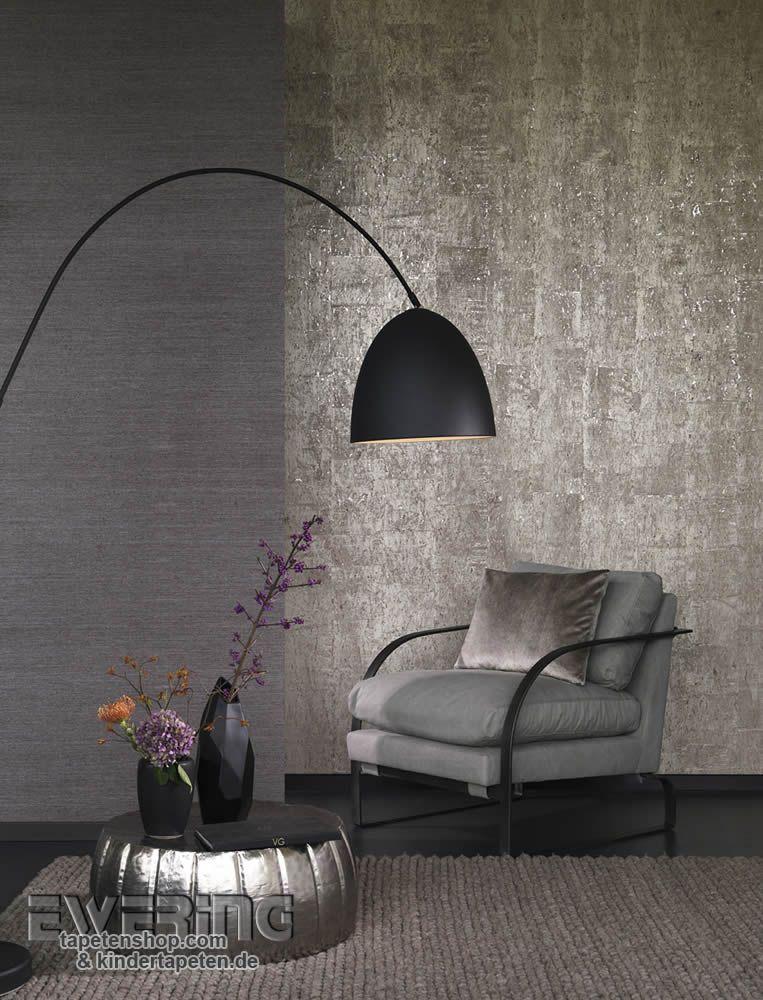 23-vista-5-02 Glanz und Glamour verbreitet die beige-graue Kork - graue tapete wohnzimmer