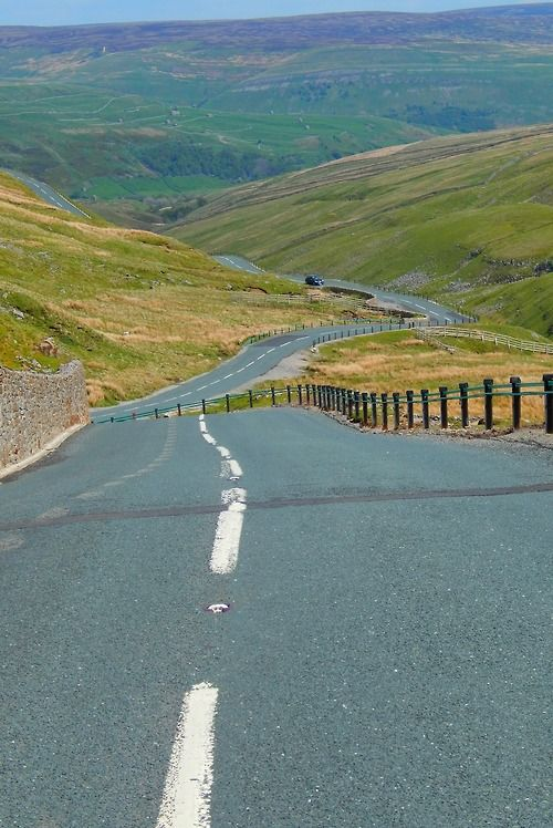 Buttertubs Pass, Yorkshire Dales, Yorkshire, England, UK