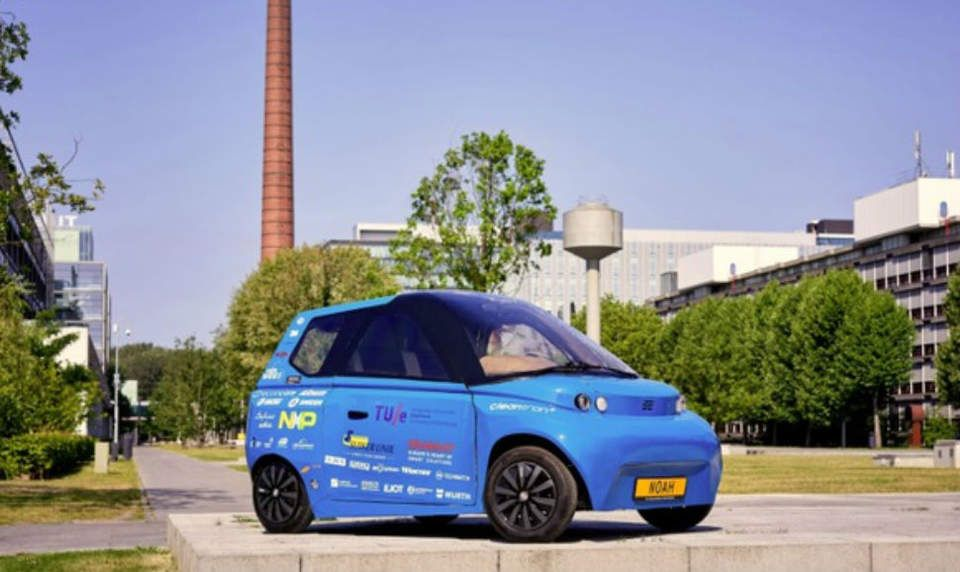 Dutch Engineers And Oil Giant Total Unveil Recyclable Bio Based Electric Vehicle That They Claim Is 100 Percent