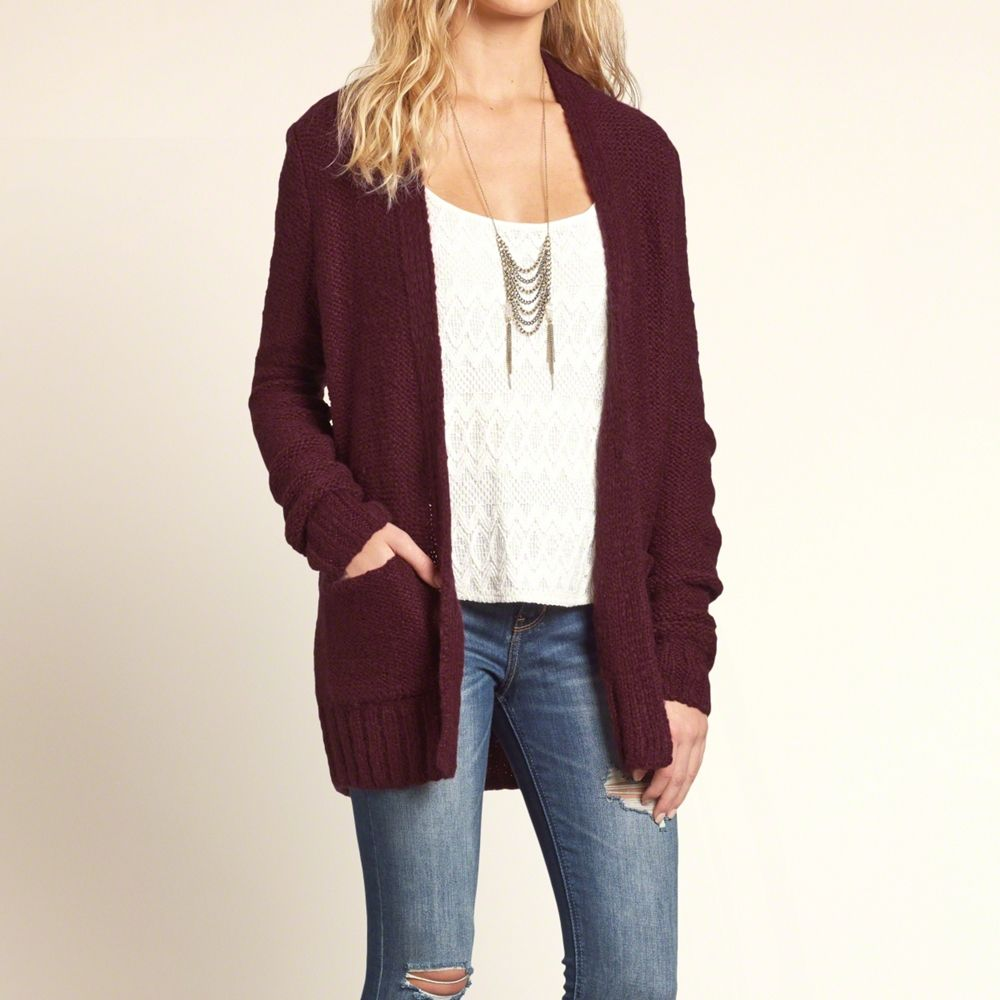 Girls Boyfriend Cardigan | Girls New Arrivals | HollisterCo.com ...