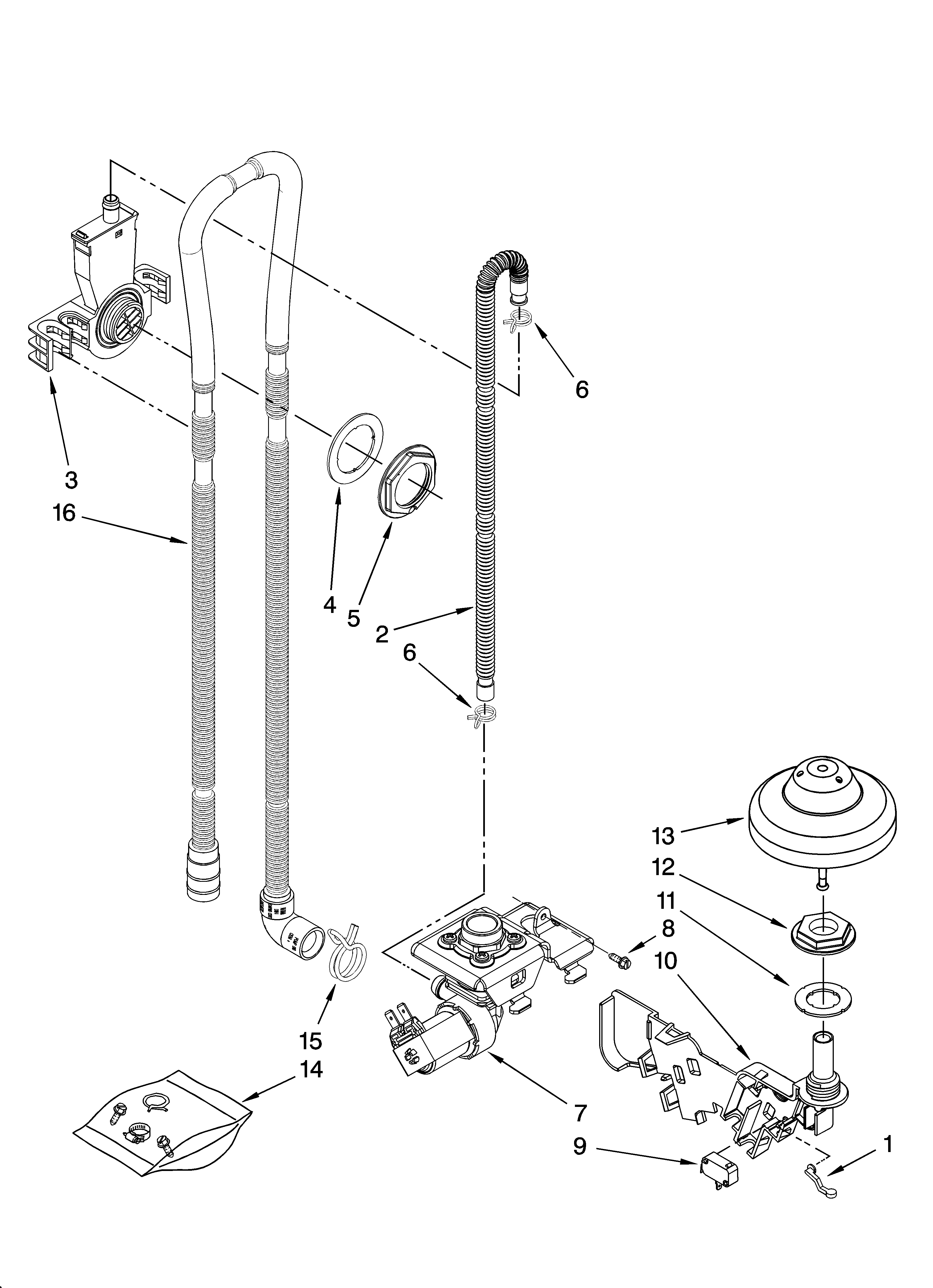 Shop For Kitchenaid Dishwasher Repair Parts For Model Kudk03ctwh2 At Sears Partsdirect Find Kitchenaid Dishwasher Repair Kitchenaid Dishwasher Diagram Design