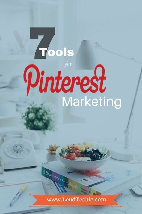 7 Great Tools to Get the Most Out of Pinterest Marketing  In this post, we are going to mention 7 amazing #tools that will help you in #marketing on #Pinterest really easy!  #Buffer #Business #IFTTT #Sendible #SocialMedia #Tailwind #ViralTag