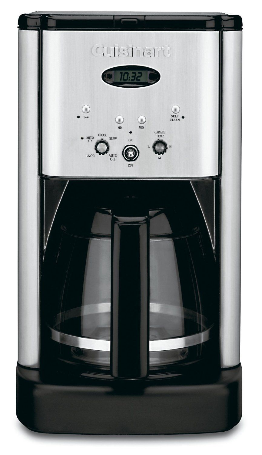 Best Coffee Makers Comparison 2015 | CrowdBest.com • Cuisinart DCC-1200 Brew Central 12-Cup Programmable Coffeemaker, Black/Brushed Metal #coffee