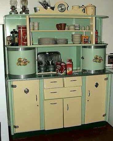 Retro Kitchen Cabinet | Vintage ♢ | Pinterest | Retro, Kitchens and ...