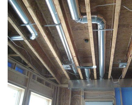 Low Basement Ceiling Ductwork Google Search In 2020