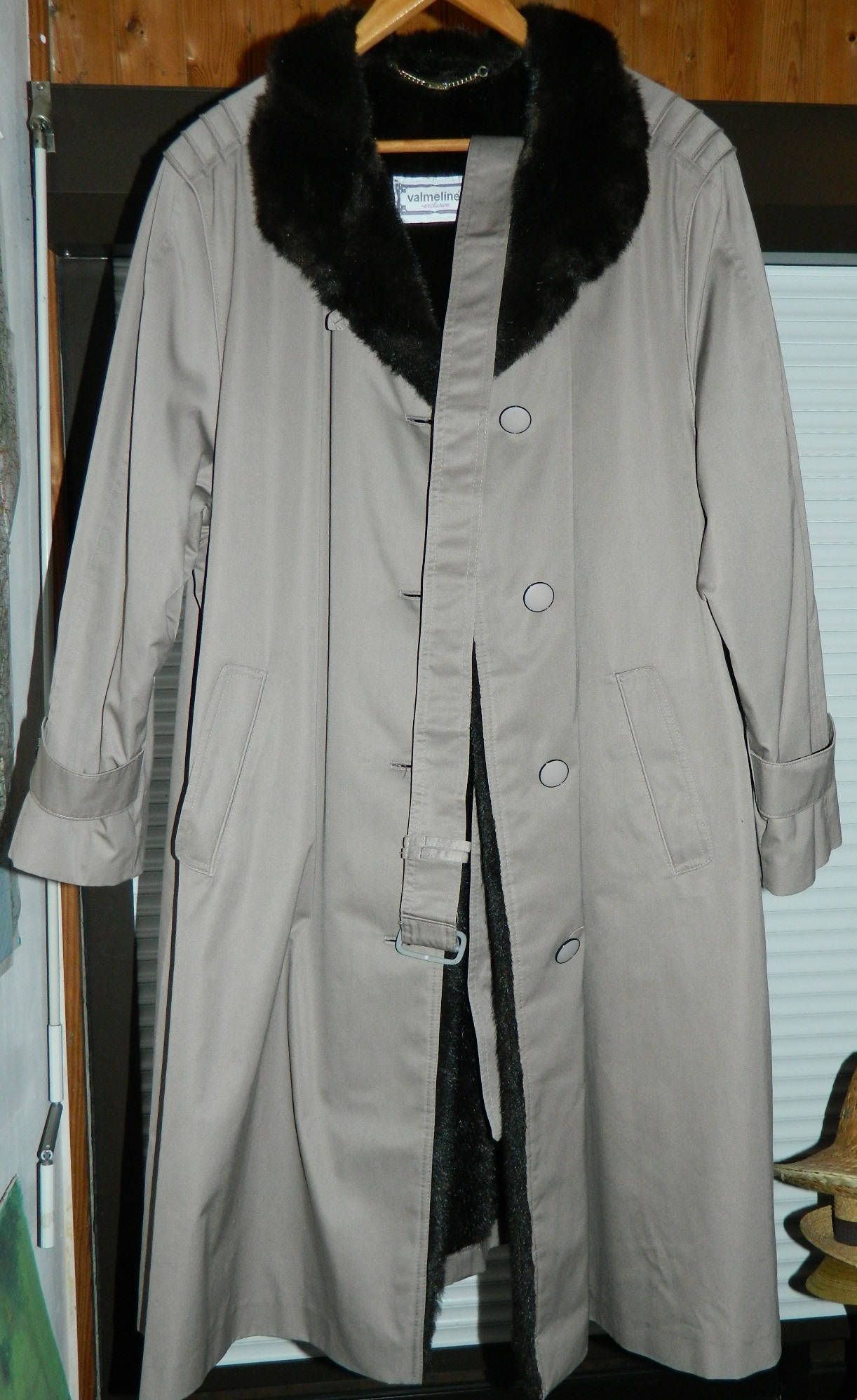 rencontrer c4c64 5966f Vintage Mens Trench Coat Made In West Germany 1970s-1980s ...