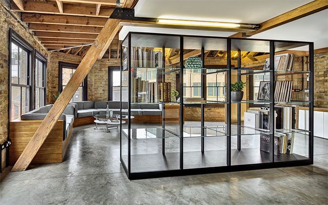London-based architecture firm DOS Architects have unveiled some images of a recently completed project for creative consultancy MAD Agency London. Located by Old Street in east London, the offices are on the top two floors of a converted industrial warehouse.